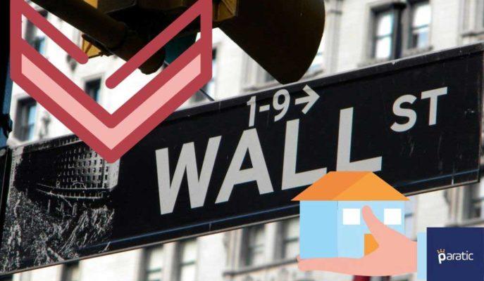 ABD Borsaları Beklentiden Az Gelen Yeni Konut Satışlarıyla Düşük Seyrediyor