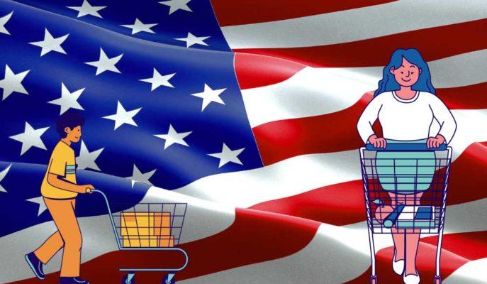 ABD'de Tüketici Güveni Mart'ta Beklenti Üstü Arttı
