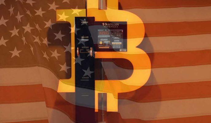 ABD'de Son Bir Yılda 10 Bine Yakın Bitcoin ATM'si Kuruldu