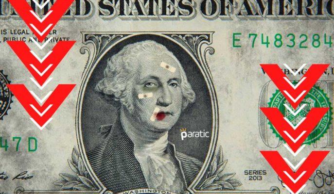Beklentileri Karşılayan ABD TÜFE'si Sonrası Dolar %1 Civarı Düşüyor