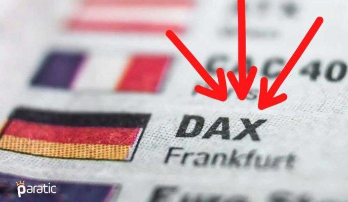 Almanya Hisse Senetleri İyi Gelen PMI Verisine Rağmen Düşüyor