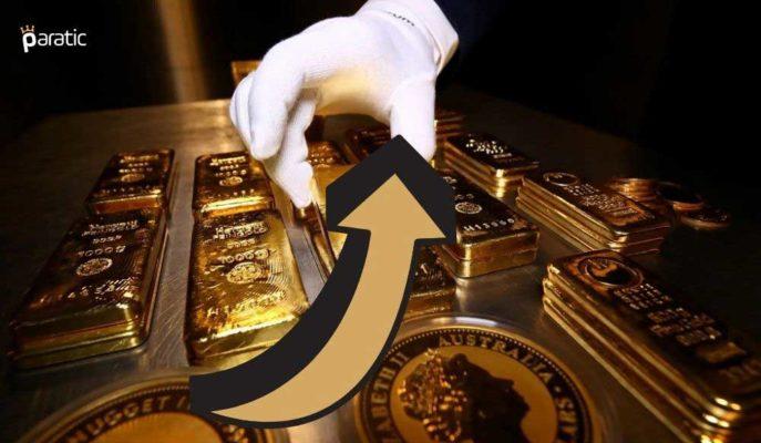 Altın Fiyatları ABD Tahvillerindeki %1,5'lik Düşüşle Sınırlı Toparlandı