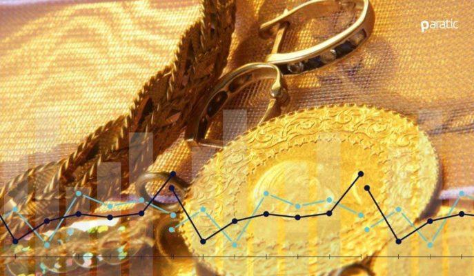 Altının Gram Fiyatı 449, Çeyrek 734 Liradan İşlem Görüyor