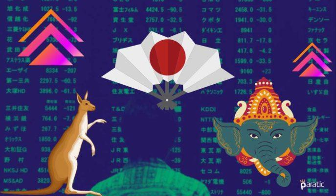 Asya Piyasaları Haftanın İlk Gününe Kayda Değer Yükselişle Başladı