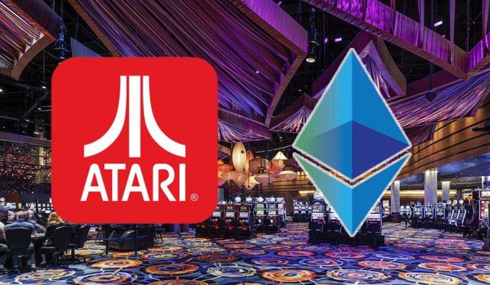 Atari, Ethereum Tabanlı Kripto Para Kumarhanesi Geliştiriyor