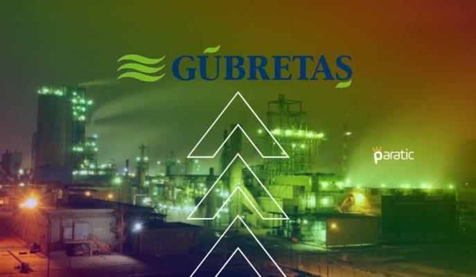 Gübretaş, Bağlı Ortaklığına 135 Milyon Dolarlık Kredi Limiti Tahsis Etti
