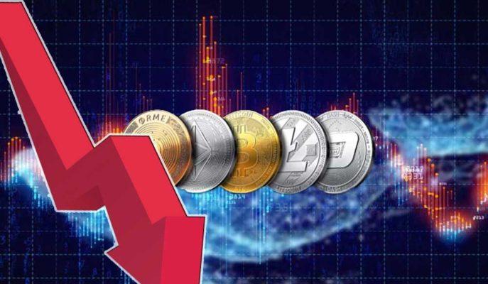 Bitcoin'in 46 Bin Dolara Kadar Gerilemesi ile Altcoinler Değer Kaybetti