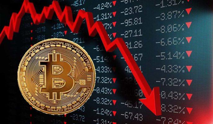 Bitcoin Sert Düşüş ile 50 Bin Dolar Desteğine Yaklaştı