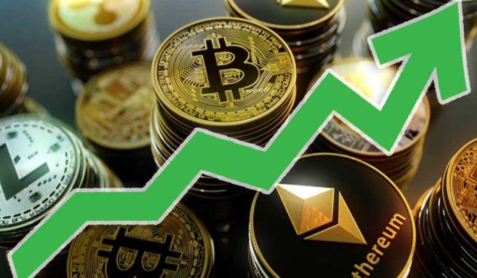 Bitcoin'in 50 Bin Dolar Seviyesini Görmesi ile Ethereum ve Altcoinler İvmelendi