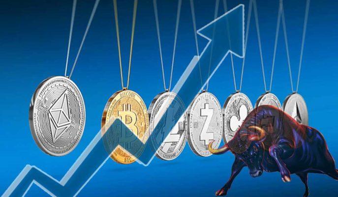 Bitcoin 52 Bin Doları Geçmeye Çalışırken Altcoinler Boğaya Hazırlanıyor