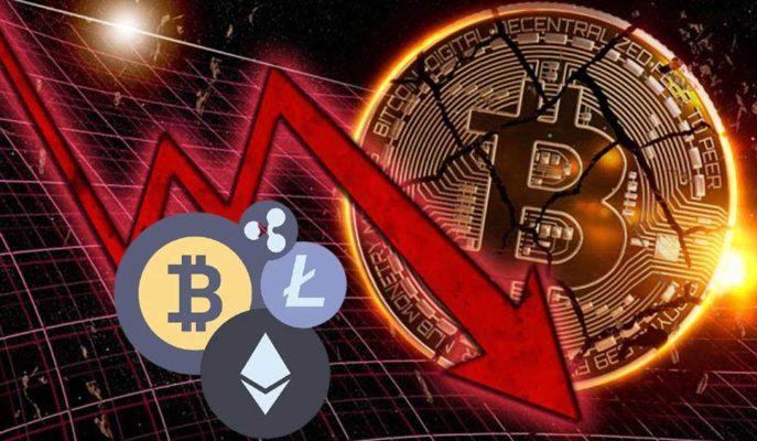 Bitcoin 53 Bin Dolara Kadar Düşerken Altcoinlerin Kayıpları Artıyor
