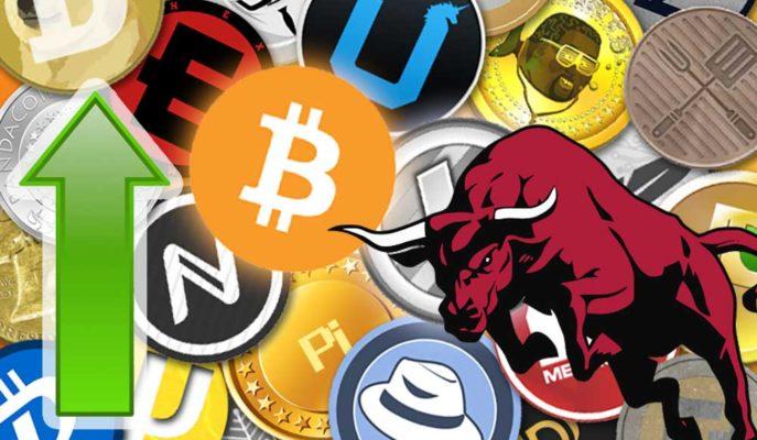 Bitcoin 54 Bin Doları Aştı ve Altcoinleri Destekliyor