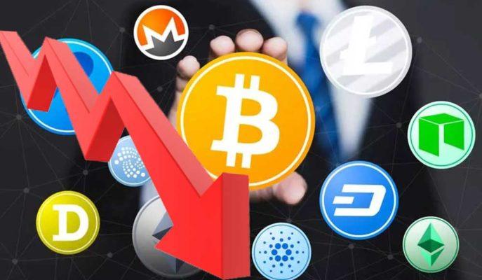 Bitcoin 55 Bin Dolar Desteğini Kırması ile Altcoinler Kayıplarını Artırdı