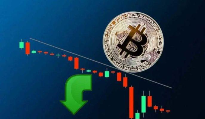 Bitcoin ABD Tahvil Getirileri Etkisiyle 55 Bin Doların Altına Düştü