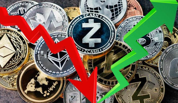 Bitcoin ve Altcoinler Haftasonu Düşüşünden Sonra Yönünü Yukarı Çevirdi