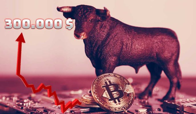 Bitcoin'in Boğa Koşusunun 300 Bin Dolara Kadar Sürebileceği Tahmin Ediliyor