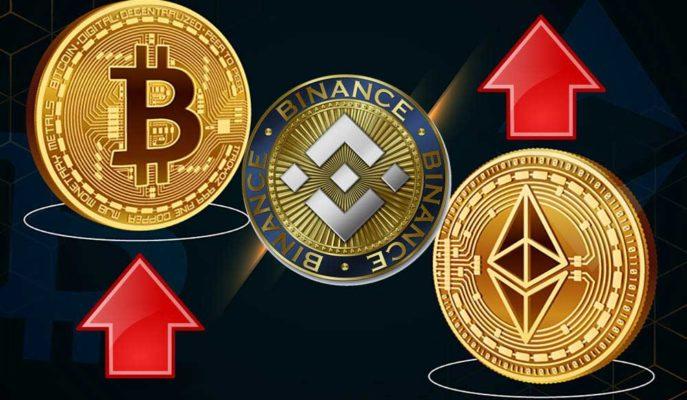 Bitcoin ve Ethereum Yükselirken BNB 300 Doların Üzerine Çıktı