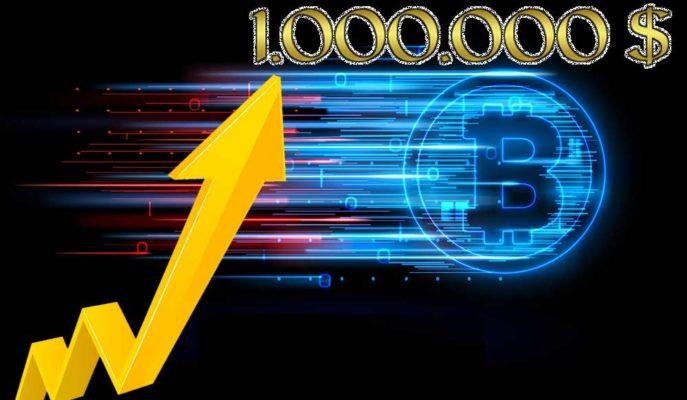 Bitcoin Fiyatının 10 Yıl İçerisinde 1 Milyon Dolar Olabileceği İddia Edildi