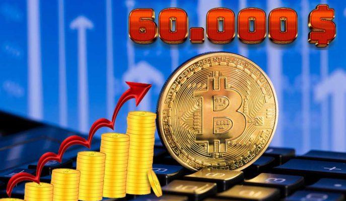 Bitcoin Haftalık Yükseliş Beklentisiyle 55 Bin Dolar Seviyesinde