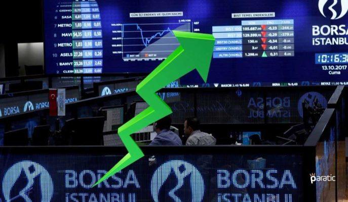 Borsa, Finansal Kiralama Endeksi Öncülüğünde %0,5 Primli Seyrediyor