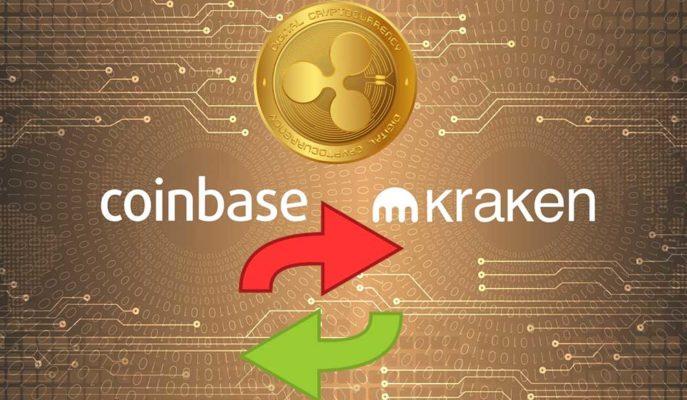 Coinbase ve Kraken Borsaları Arasında 30 Milyon Dolar XRP Aktarımı Yapıldı