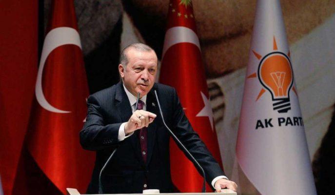 Cumhurbaşkanı Erdoğan AK Parti Kongresi'nde Konuşuyor