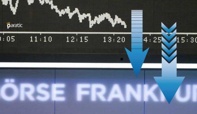 Alman DAX Endeksi Küresel Satış Dalgasıyla Düşüşünü Sürdürüyor