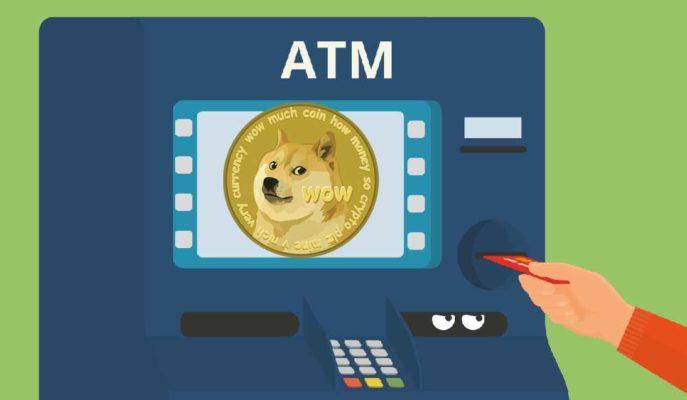 Dogecoin ABD'nin 45 Eyaletinde ATM'lerden Satın Alınabiliyor