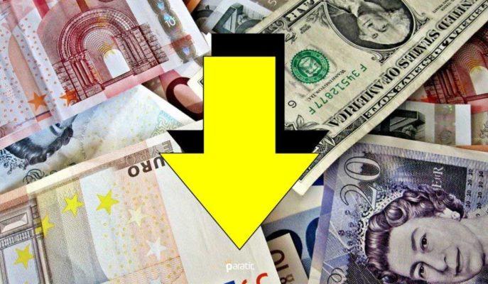 Dolar ve Euro'da Faiz Artışı Sonrası Başlayan Düşüş Sürüyor