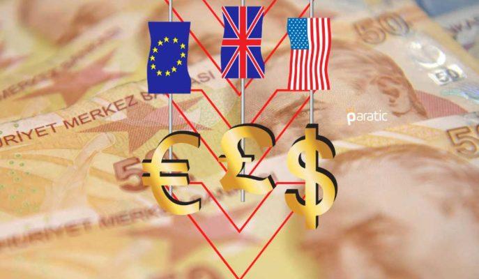 Dolar, Euro ve Sterlin Psikolojik Sınırların Altında İşlem Görüyor