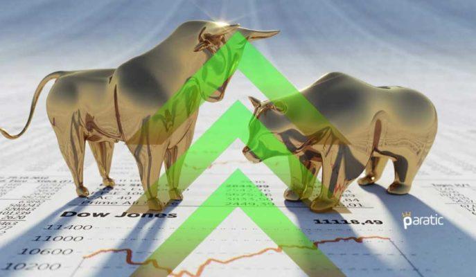Dow Psikolojik Sınırın Üstünde Kapanırken, Kontratları Tüm Vadelerde Yükseliyor