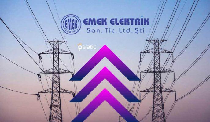 Emek Elektrik Sermaye Artırımını Tamamlarken Hisseleri Güçlü Yükseliyor