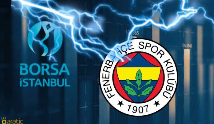 En Çok Düşenlerde Öne Çıkan Fenerbahçe Hisseleri Kayıplarını Genişletti