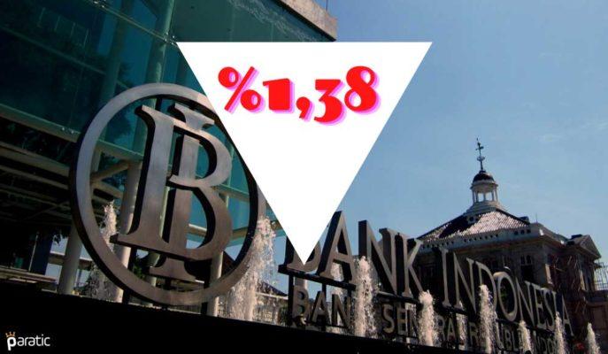 Endonezya'da Enflasyon Şubat'ta 9. Ayında Hedefin Altında Kaldı