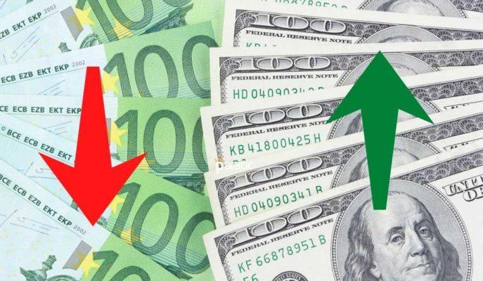 Euro/Dolar Paritesi 1,19'a Gerilerken Haftalık Kaybı %1,11 Oldu