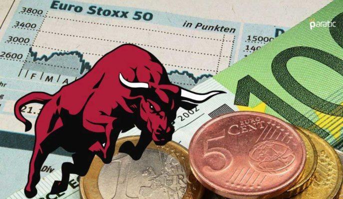 Euro Stoxx 50 Endeksi 52 Haftanın En Yükseğine Çıktı