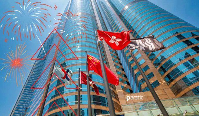 FED ile Güçlenen Hong Kong Göstergesi 500 Puan Yukarda Kapanmaya Hazırlanıyor