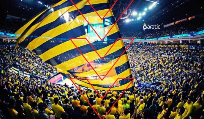 Fenerbahçe Hisseleri %8 Değer Kaybederken Dünkü Kazançlarını Sildi