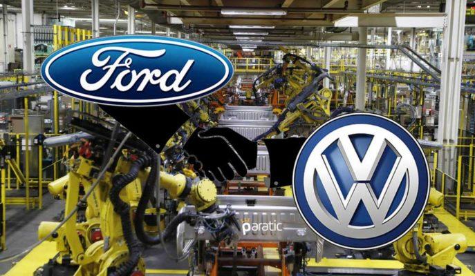 Ford ve Volkswagen 1 Tonluk Orta Ticari Araç Üretimi için İmzaları Attı