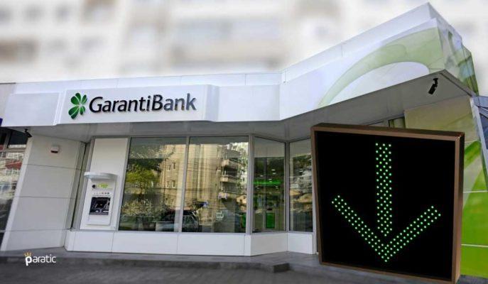 En Çok İşlem Görenlerden Garanti Bankası Hisseleri %1 Ekside Seyrediyor