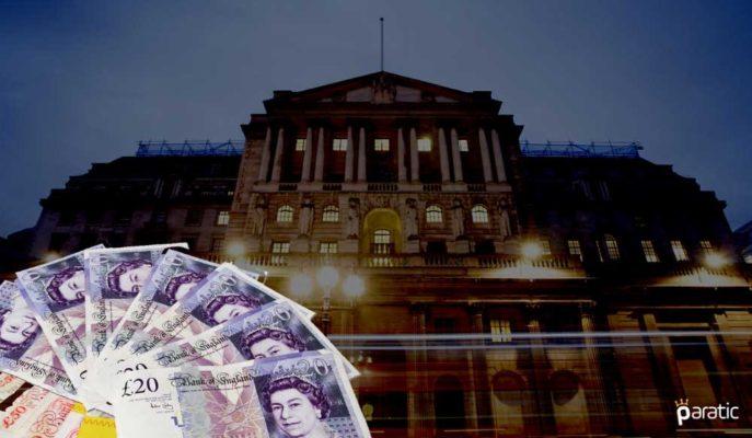 GBP/USD Paritesi İngiltere Merkez Bankası Sonrası Düşüşte
