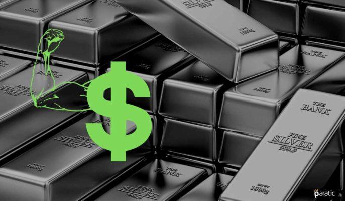 Gümüş 2,5 Ayın En Düşüğünde! Doların Gücü Metali Aşağı Çekiyor