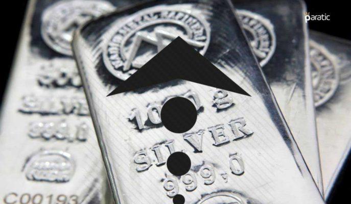 Gümüş 26,28 Dolarla Haftanın En Yükseğinde Seyrediyor