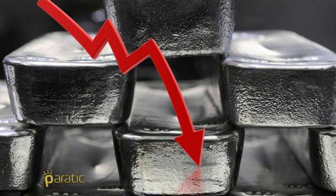 Gümüşün Aylık Kaybı Piyasalardaki Son Dalgalanmayla Birlikte %8'i Aştı