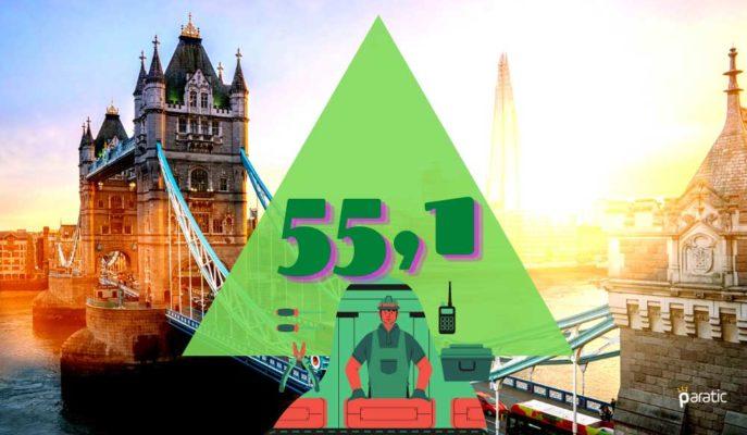 İngiltere İmalat PMI Şubat'ta 55,1 ile 9. Ayında Büyümede Kaldı