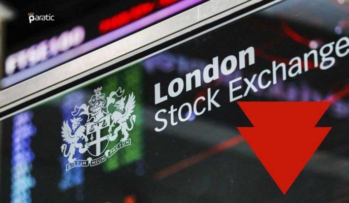 İngiltere Piyasaları İşsizlik Verilerinin Ardından Negatif Seyrediyor