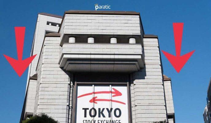 Japon Nikkei ve Topix Endeksi Çekirdek TÜFE Sonrası Düşüşe Geçti