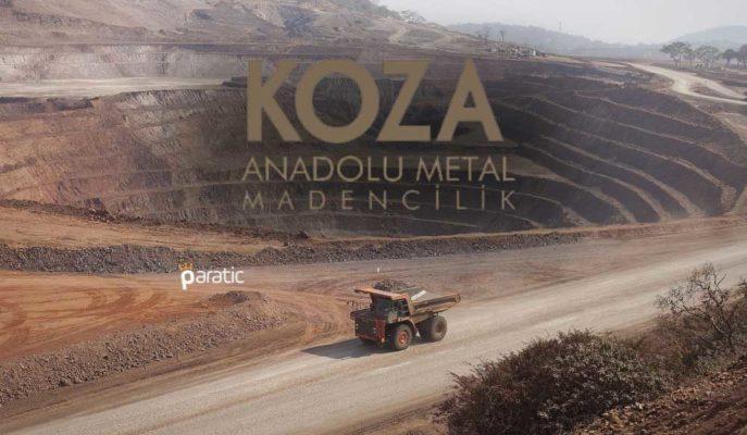 Koza Madencilik Hisseleri 1,5 Ayın En Düşüğünden Yükselişe Geçti