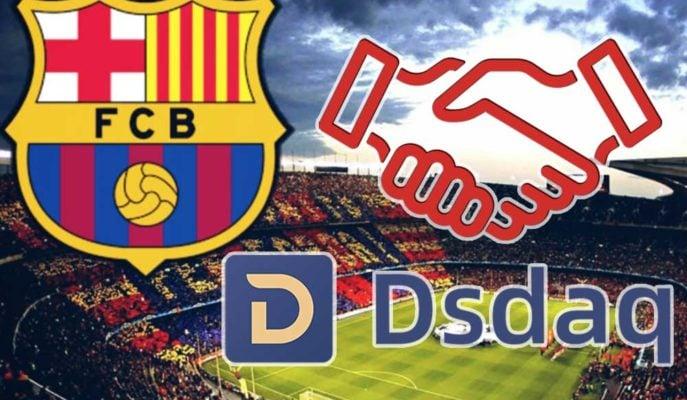 Kripto Para Borsası DSDAQ, FC Barcelona'ya Ana Forma Sponsoru Olabilir