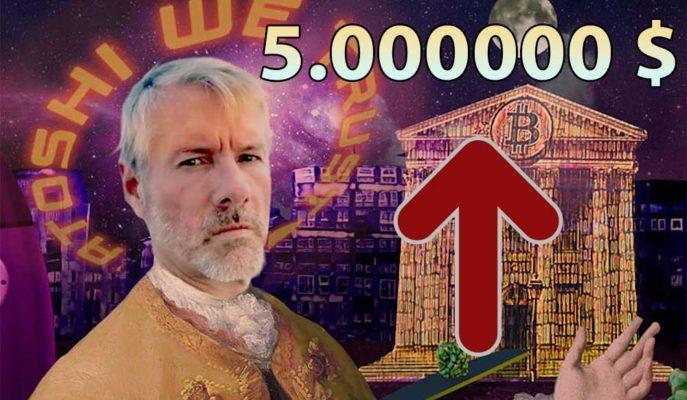 Michael Saylor'a Göre Bitcoin Fiyatı 5 Milyon Dolar Olacak